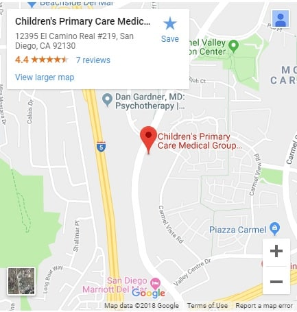 Childrens Primary Care Medical Group Carmel Valley